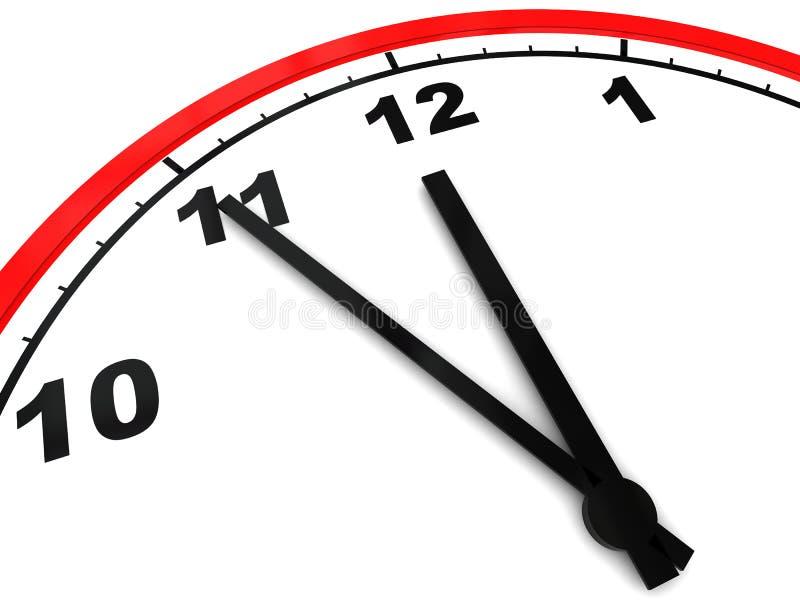czas projekcji ilustracja wektor