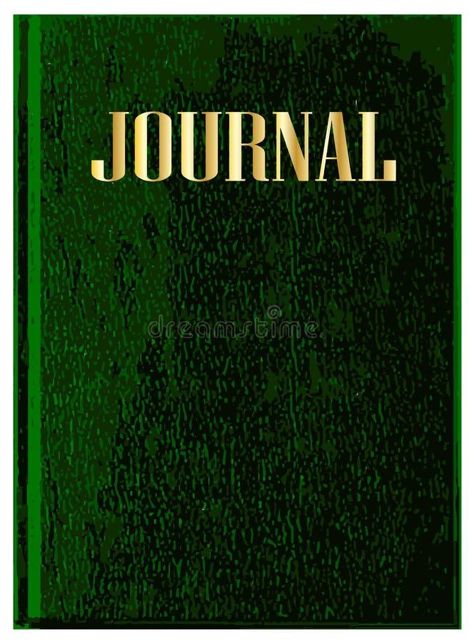 Czasopismo Książkowa pokrywa Na Białym tle ilustracja wektor