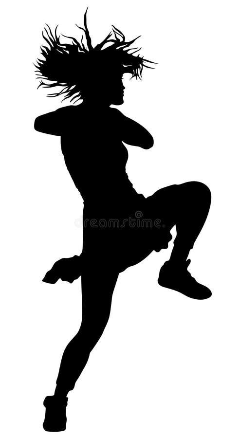 Czasu out widowisko, chirliderka wykonawcy taniec Sporta poparcia wydarzenie royalty ilustracja
