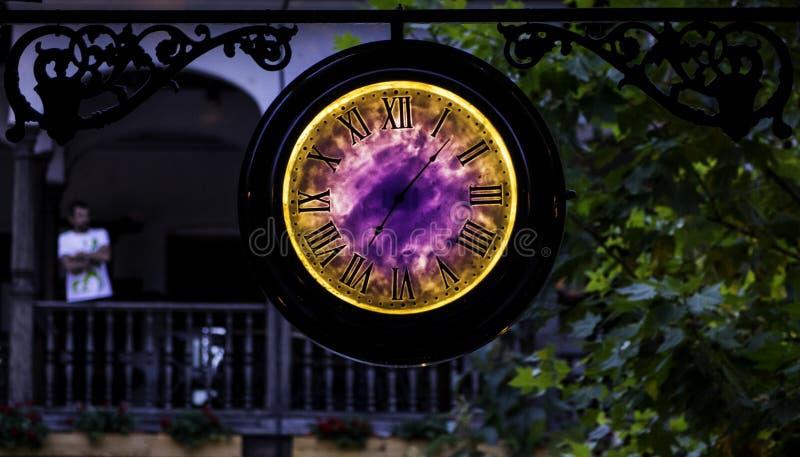 Czasu portal zdjęcie royalty free