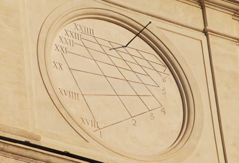 Czasy starożytne i słoneczne obrazy stock