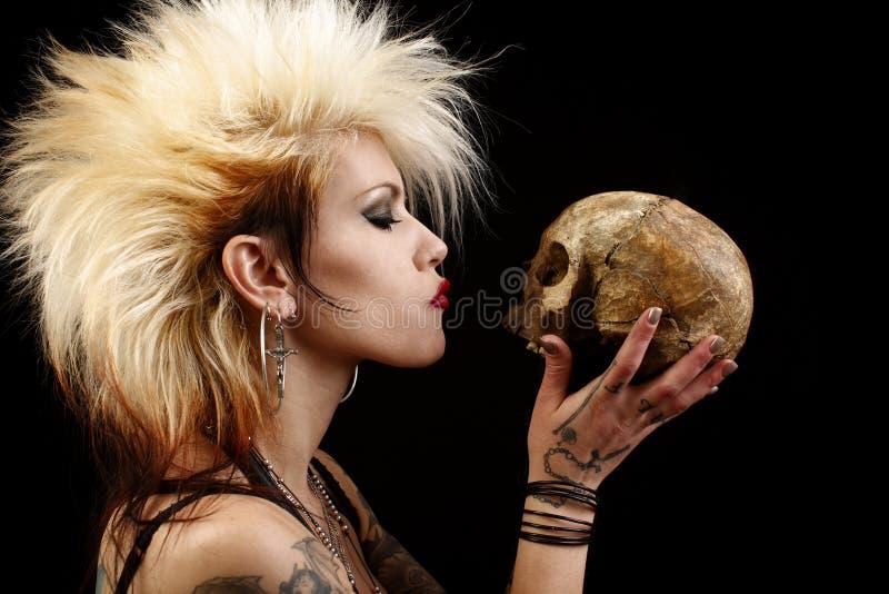 czaszki kobieta zdjęcia stock