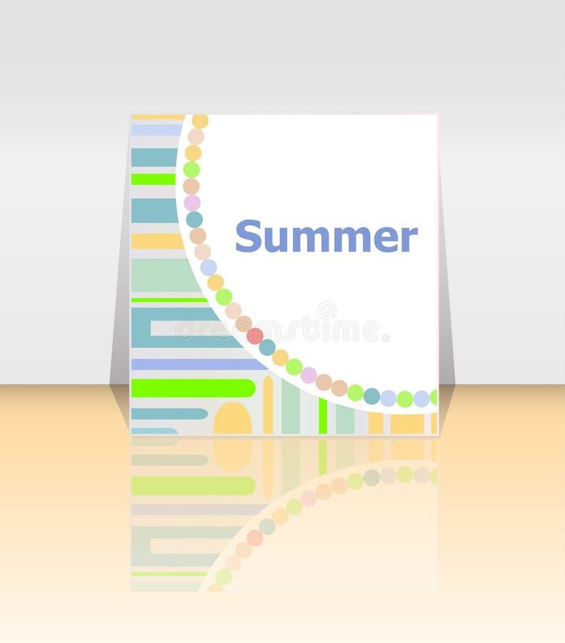 Download Cześć Lato Plakat Lata Tło Wykonuje Plakat, Rama Szczęśliwi Wakacje Karta, Szczęśliwa Urlopowa Karta Obraz Stock - Obraz złożonej z świętowanie, cześć: 57663855