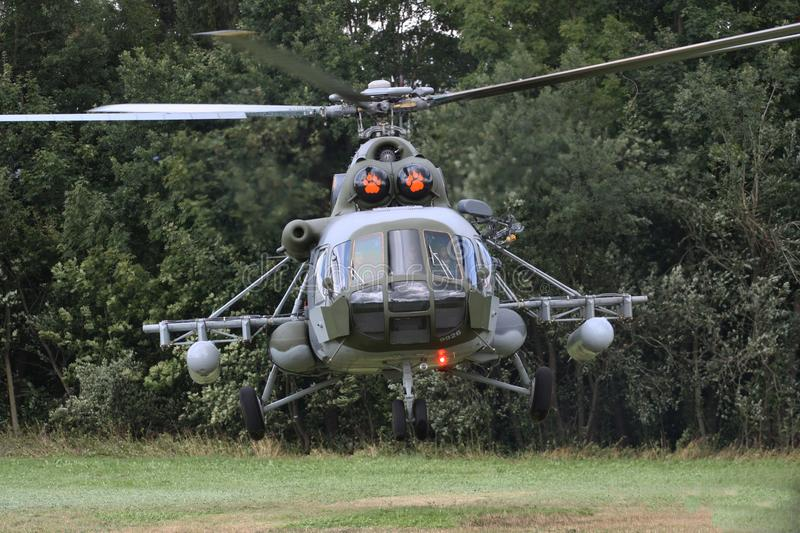Czech Air Force Mil Mi-17 transport helicopter stock photos