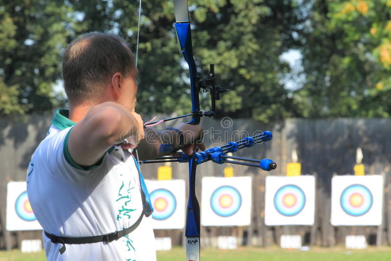 Download Czech Archery Editorial Stock Image - Image: 26566629