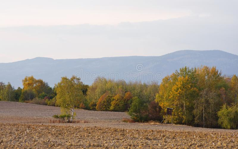 Czech countryside royalty free stock image