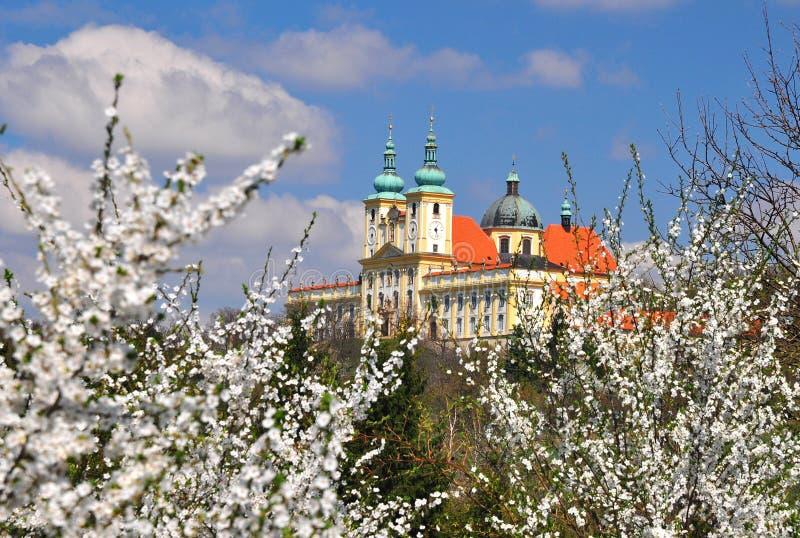 Basilica Saint Hill near Olomouc royalty free stock photo