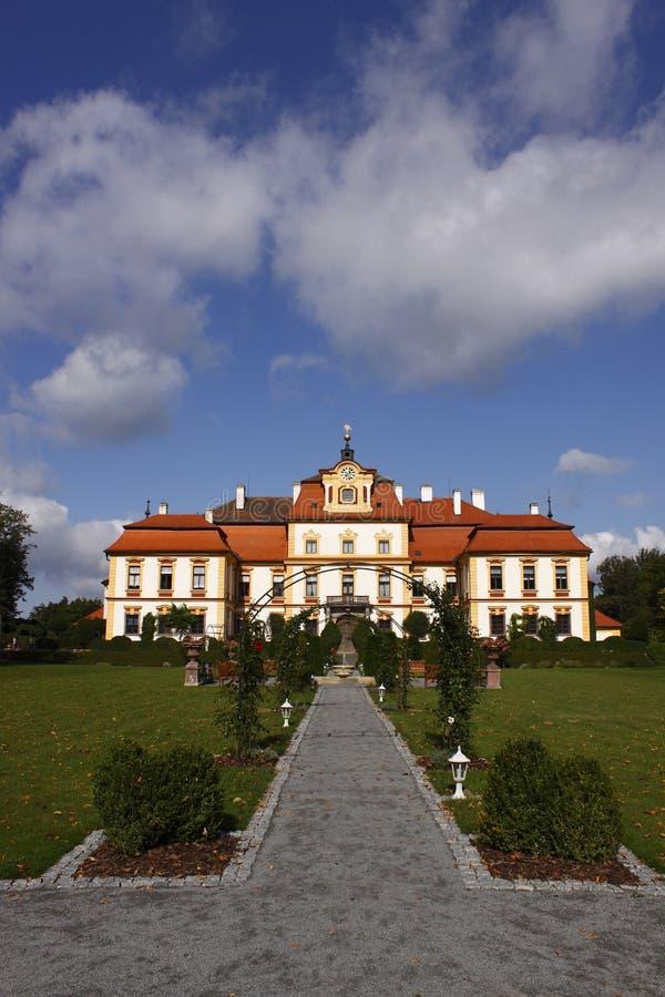Czech Beauty - Chateau Jemniste Stock Photography