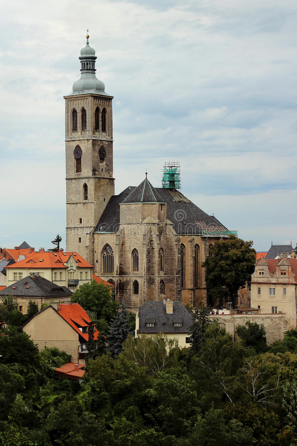 Download Czech Church Of Saint Jacob In Kutna Hora Stock Image - Image of saint, picture: 24219975