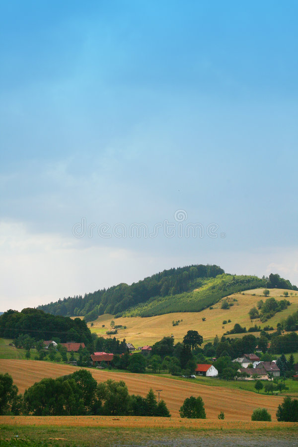 Czech country stock image