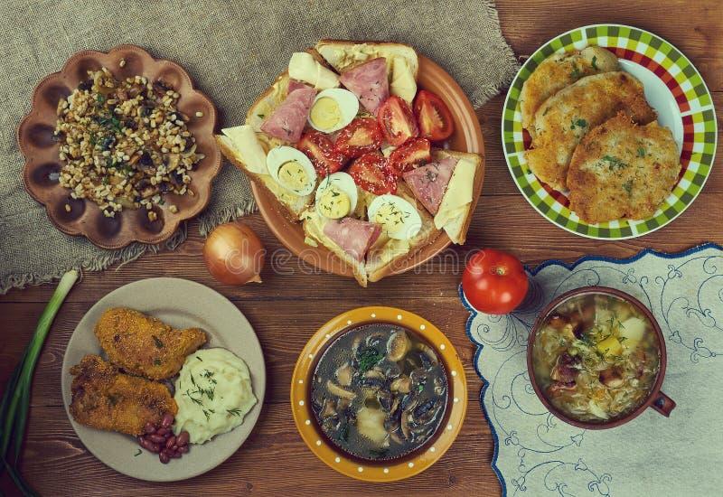 Czech cuisine royalty free stock image