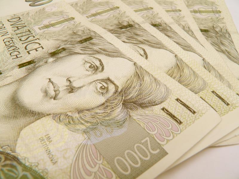 Download Czech currency stock photo. Image of currency, koruna - 18752436