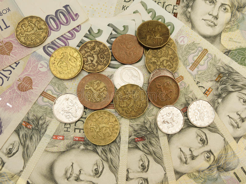 Download Czech currency stock photo. Image of money, crown, mint - 40342704