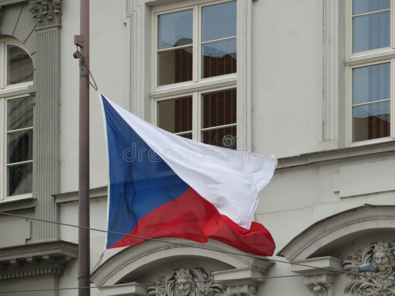 Czech flaga republika czech obrazy royalty free