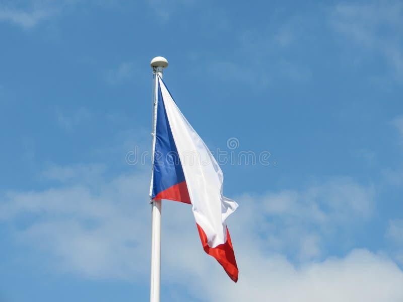 Czech flaga republika czech zdjęcia royalty free