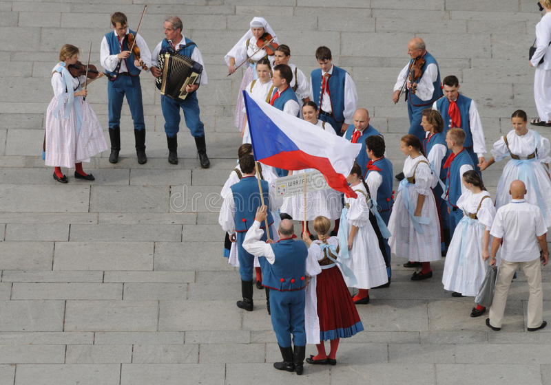 Czech Folklore Editorial Image