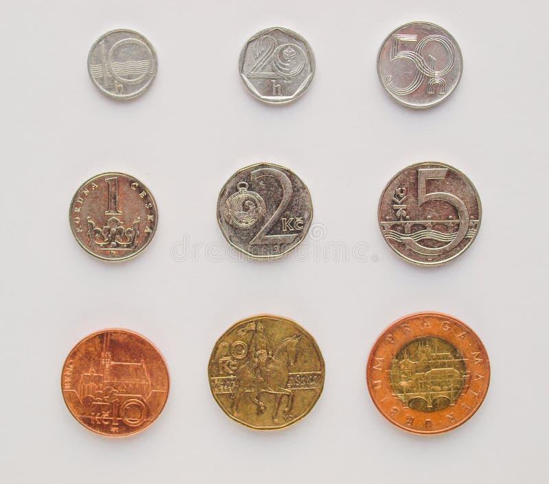 Download Czech Korunas Coins Stock Photos - Image: 29242913