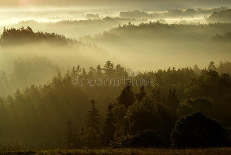 czech krajobrazowy tajemniczy Switzerland zdjęcie stock