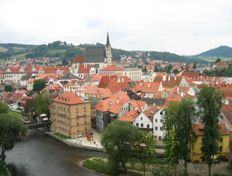 Czech Krumlov Architecture royalty free stock image