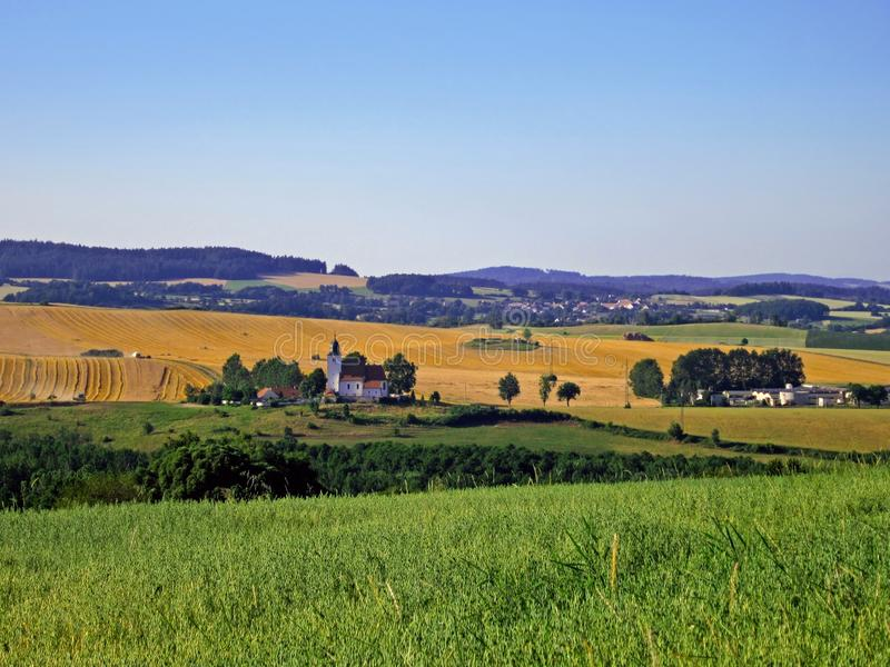 Czech Landscape royalty free stock photo