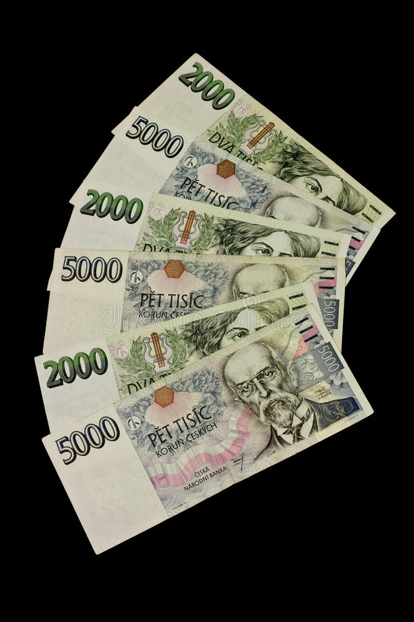 Download Czech money stock photo. Image of finance, crown, ready - 21599788