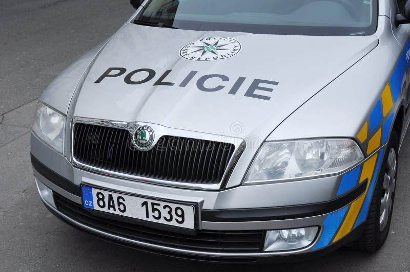 Czech Police stock photo