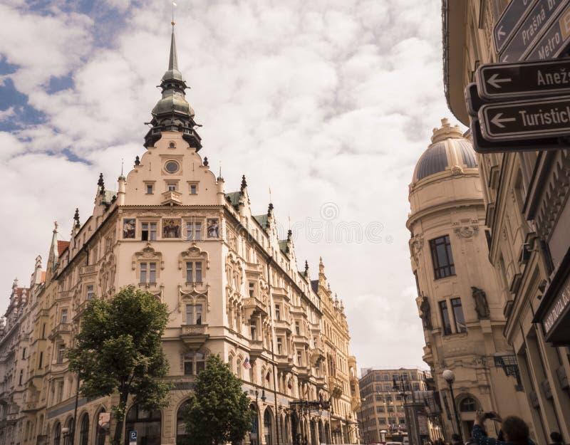CZECH, PRAGA - 12 2017 MAJ fotografia royalty free