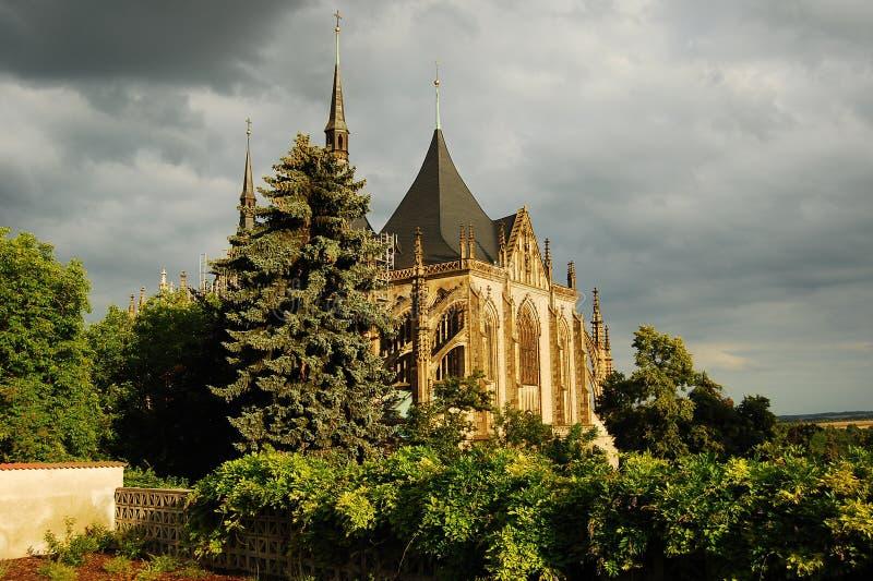 Czech rep. Kutna Hora-UNESCO stock photo
