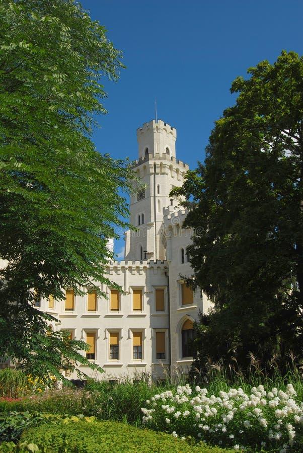 Czech republic, Castle Hluboka stock photos