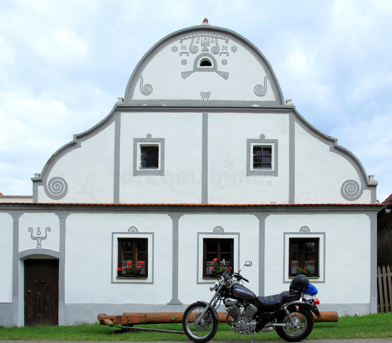 Czech Republic - Holasovice stock images