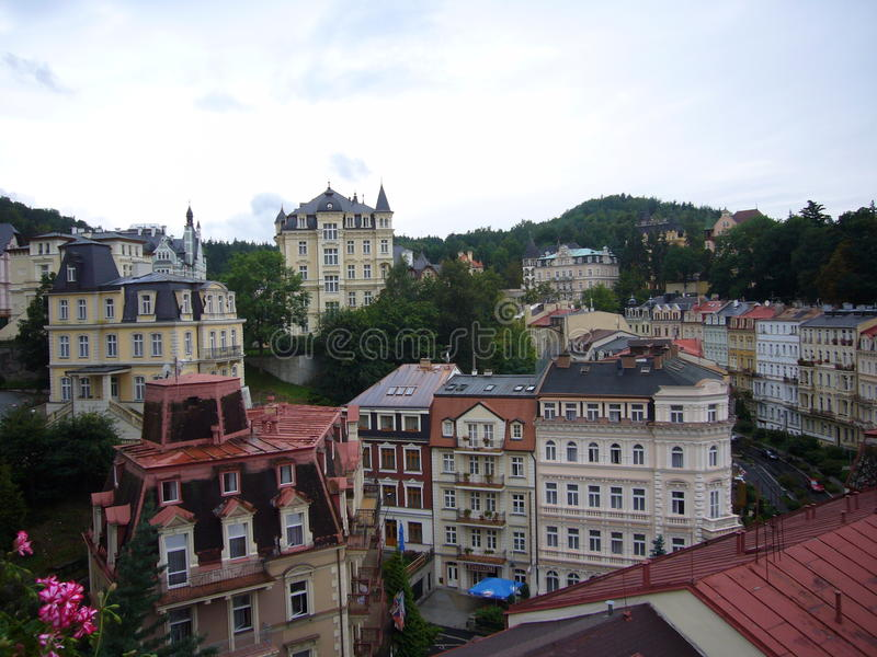 Czech Republic, Karlovy Vary stock image