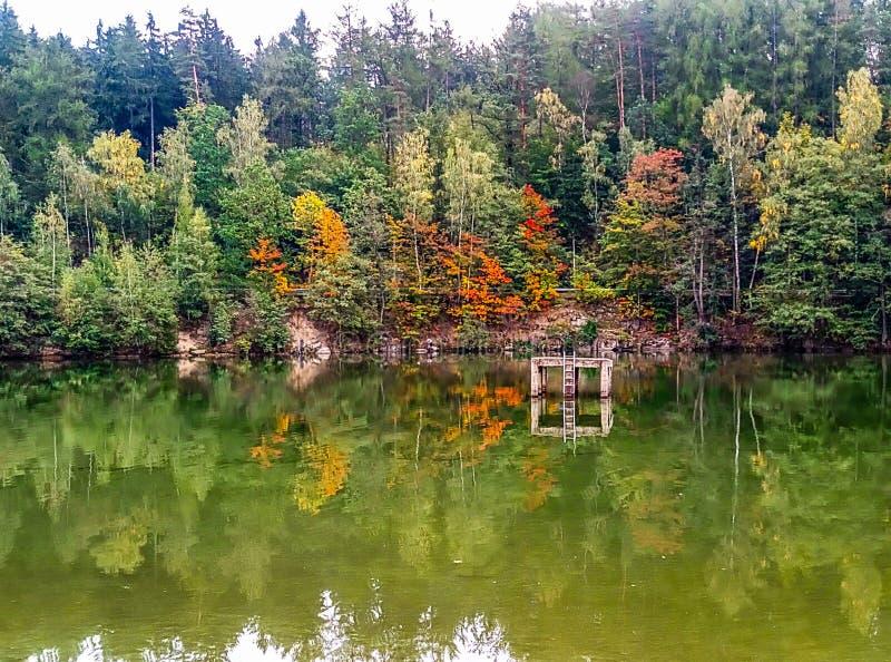 Czech Republic nature of Liberec. Nature of liberec, sport, trekking, relax royalty free stock photography