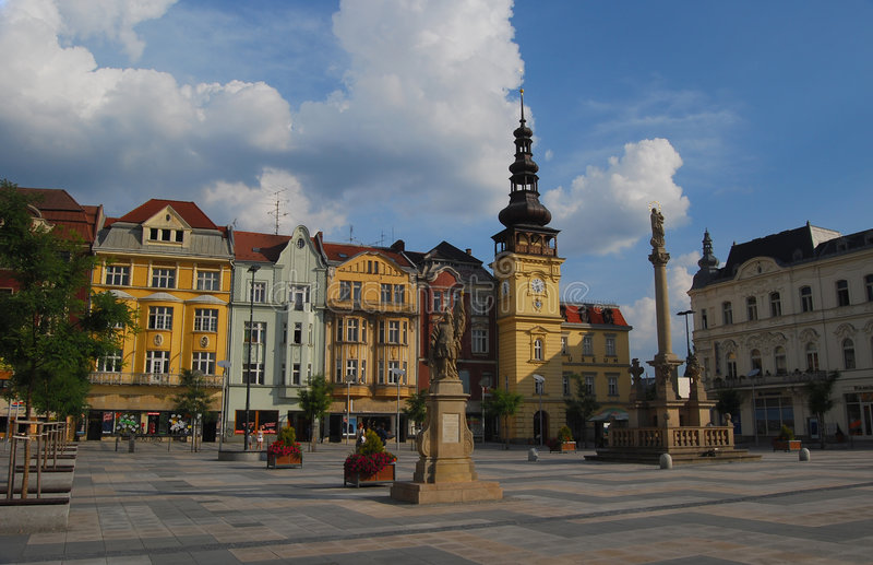 Czech republic, Ostrava royalty free stock photo
