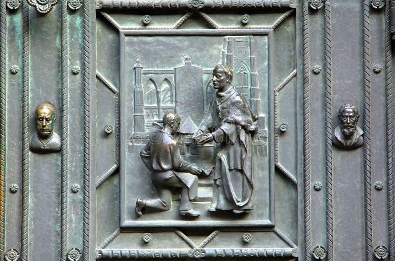 Czech Republic, Prague: St Vitus stock photos