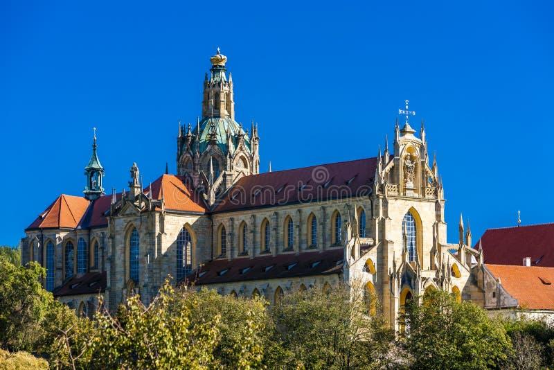 Kladruby monastery, Czech Republic stock image