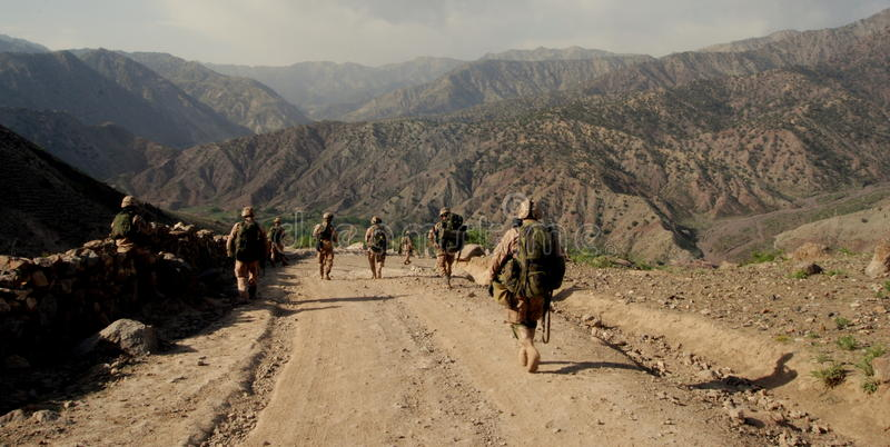 Download Czech Soldiers In Logar Province, Afghanistan Editorial Image - Image: 20113655