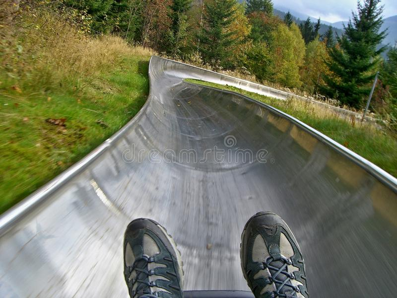 Download Czech-summer bobsled stock image. Image of bobsled, shrub - 28314593