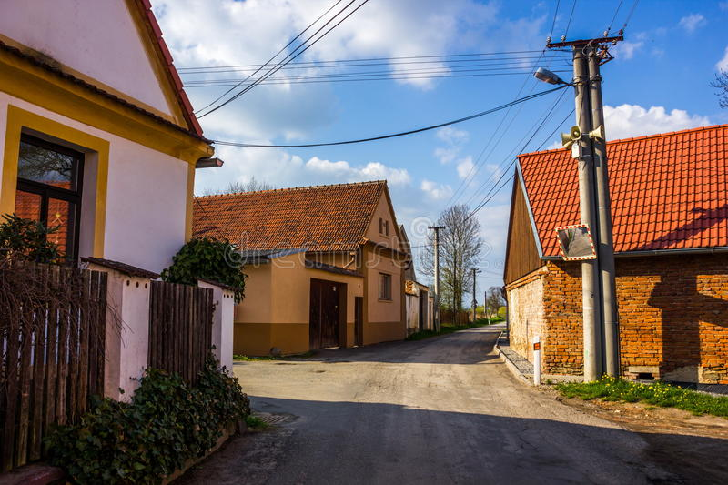 Czech village royalty free stock photography