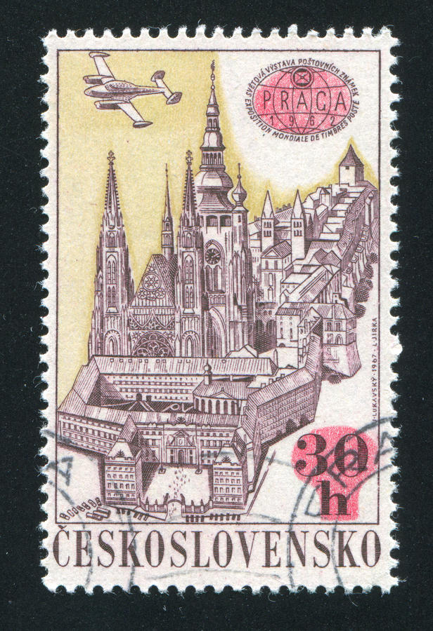 czechoslovakia royaltyfria foton