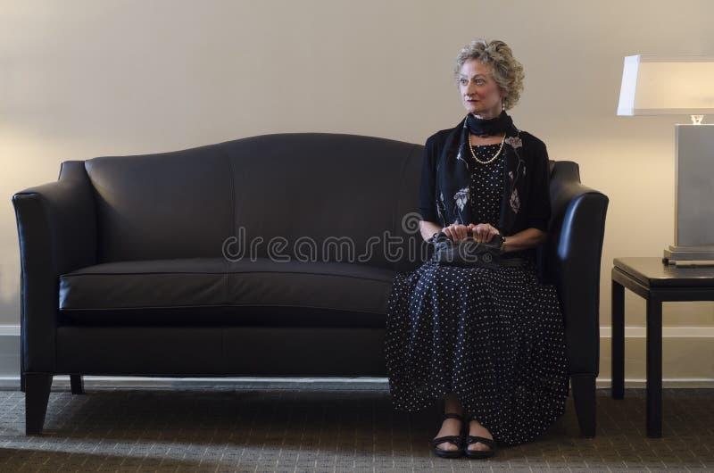 Czekać Samotnie obrazy royalty free