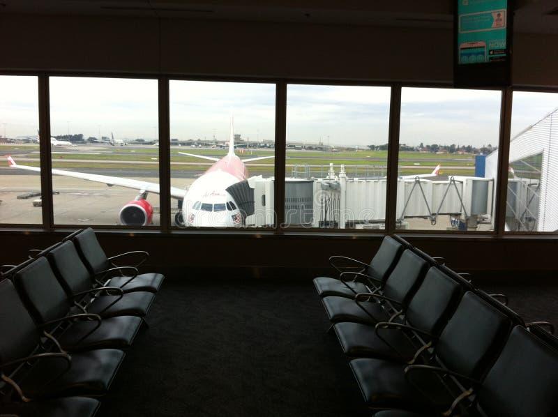 Czekający lot dzwonić zdjęcie stock