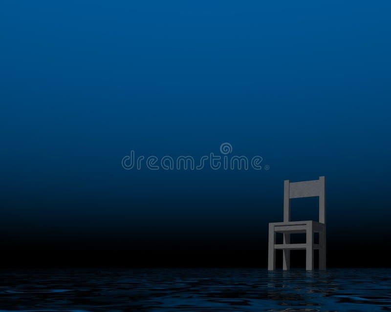 czekanie royalty ilustracja
