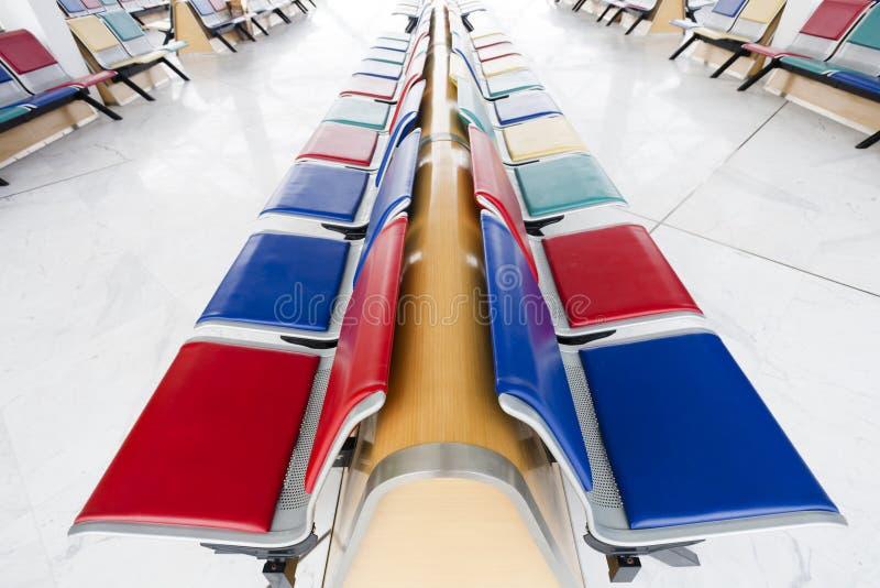 Czekanie lotniskowy Śmiertelnie Hol zdjęcie royalty free