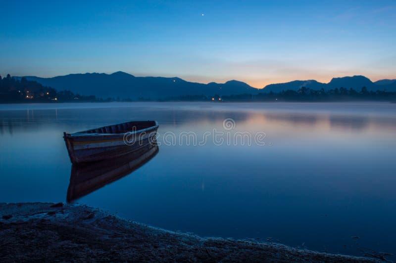 Czekanie wschód słońca zdjęcie stock