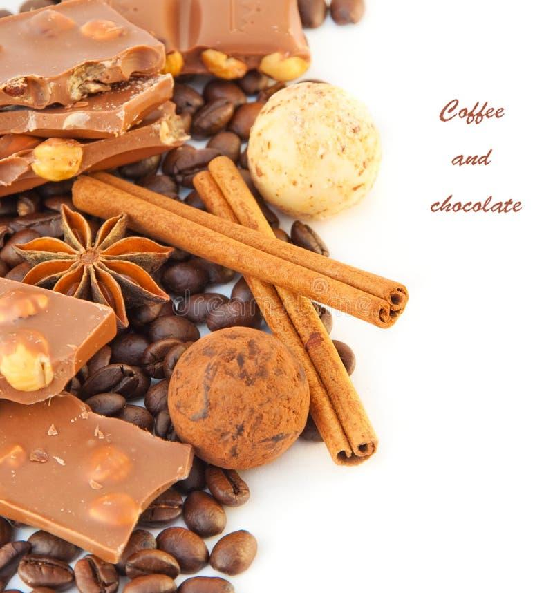 czekolad cinnamo kawy adra obraz royalty free