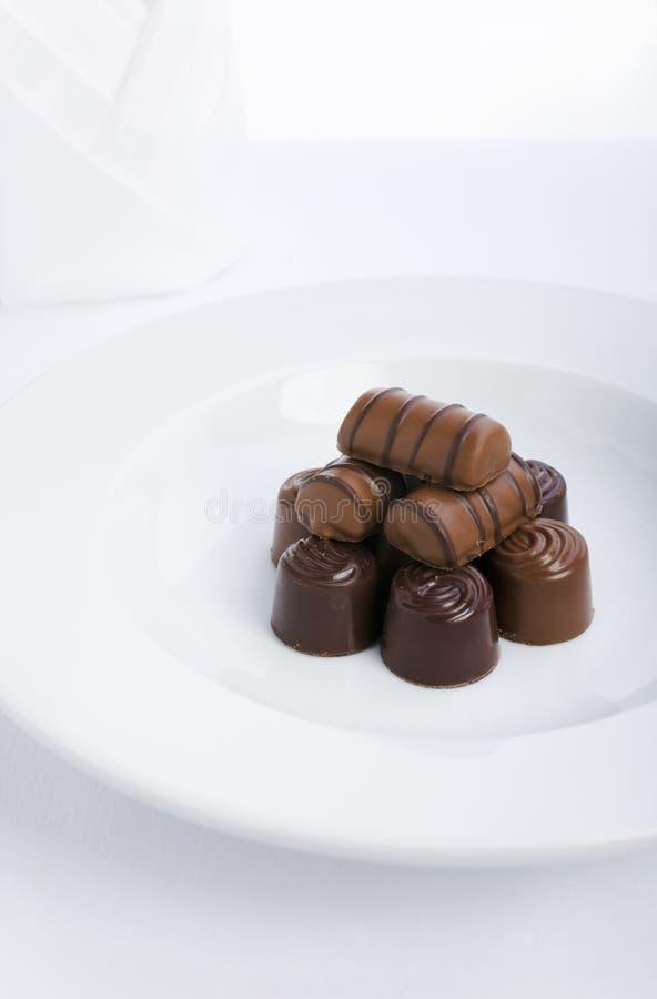 czekolada kołek zdjęcia stock