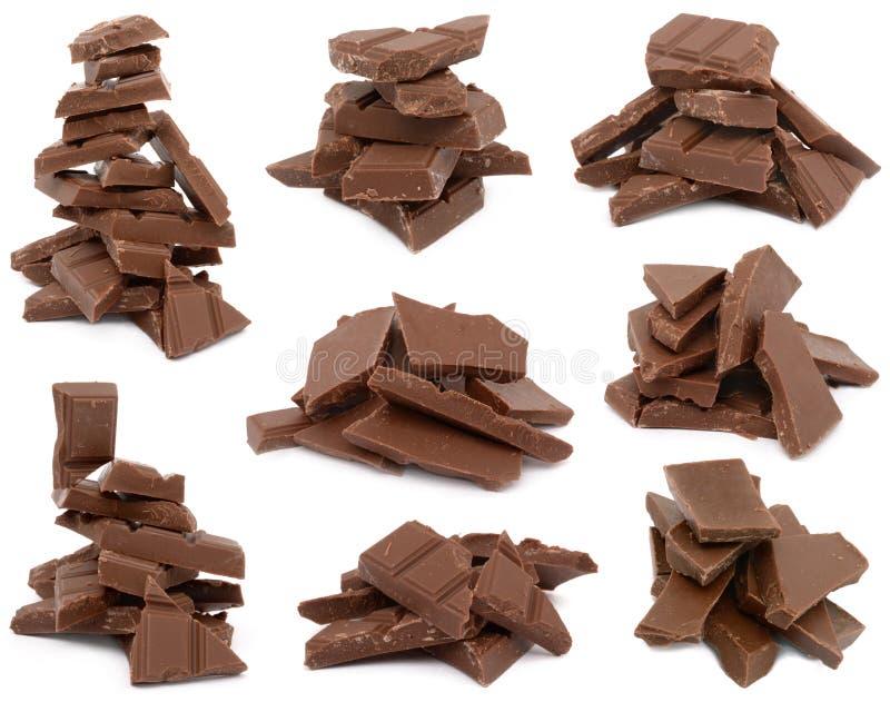 czekolada najwięcej smakowita obraz royalty free
