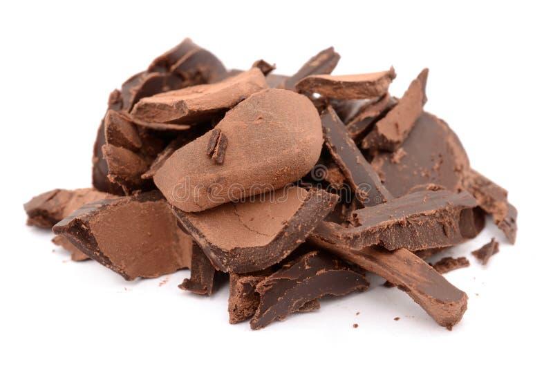 czekolada najwięcej smakowita fotografia royalty free