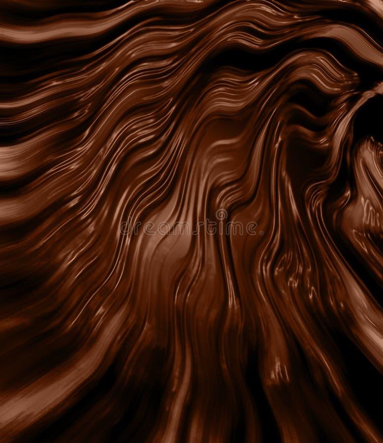 czekolada topiąca royalty ilustracja