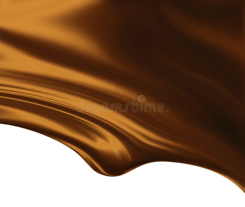 czekolada topił royalty ilustracja